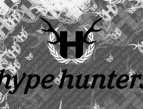 hypehunters party-flyer